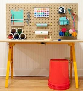 diy-craft-station-for-kids