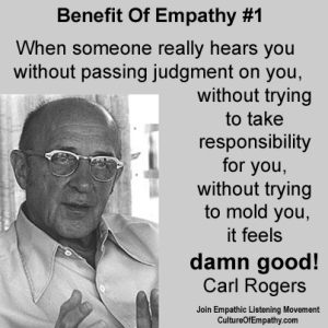 Benefit of Empathy 01 - Carl Rogers  feels damn good